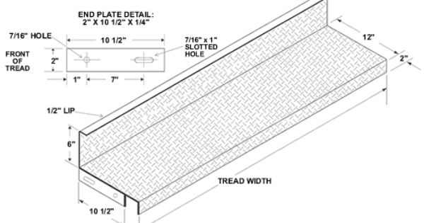 Closed Riser Diamond Plate Steel Stair Tread Galvanized Stair Treads Stairs Treads And Risers Steel Stairs Diamond Plate