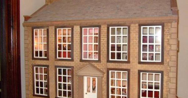 Doll House 1 12th Scale Of Bronte Parsonage Home Of Bronte Sisters Bronte Parsonage Bronte Sisters Doll House
