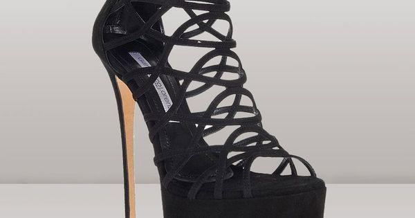 Gianmarco Lorenzi black strap sandal