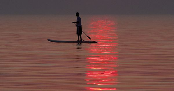 Sunset Paddleboard at Pier Cove | Flickr - Photo Sharing!