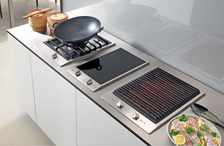 Miele Is Bringing The Great Outdoors Straight To Your Homes With New Indoor Barbecue Grills From Its Indoor Barbecue Grill Outdoor Kitchen Cabinets Indoor Bbq