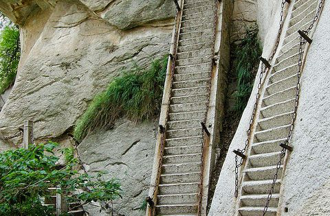 #stairs mounthua shaanxiprovince china