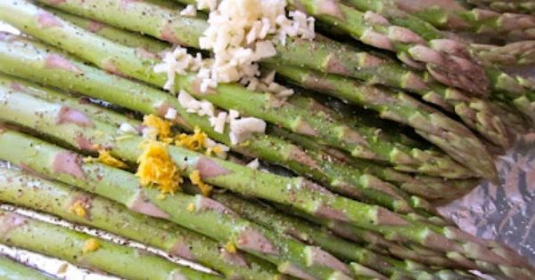 Lemon, Garlic and Asparagus on Pinterest