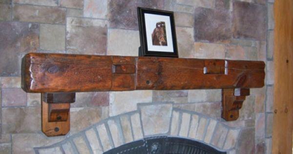 Mantel Barnwood On Stone Woodland Creek Furniture