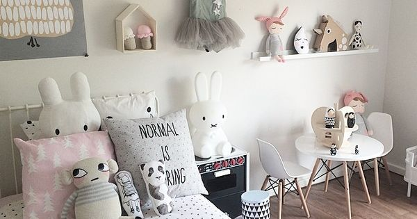 27 Stylish Ways to Decorate your Children's Bedroom  소녀 방, 여자 아이 방 ...
