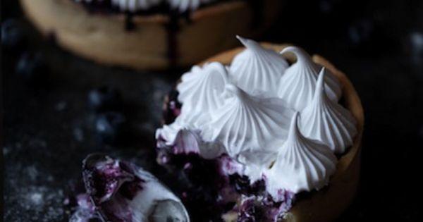 Meringue pie, Meringue and Blueberries on Pinterest