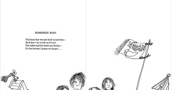 Shel Silverstein And His Family: Shel Silverstein - Homemade Boat