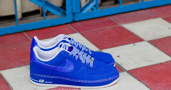 "Preview: Nike Air Force 1 Low ""Blue & White"" 