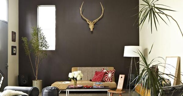 12. Accent Wall - 44 Home Decor Schemes Incorporating Dark Walls ...