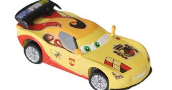 Cars 2 Miguel Camino Ca 7 Cm Gross Von Bullyland Detailreiche Handbemalte Figur Aus Hochwertigem Thermoplast Pvc Frei Zum Disney Pixar Animationsfi