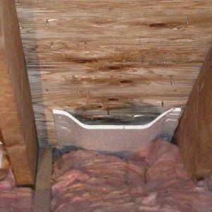 Roof Ventilation Garage Ceiling Insulation Home Insulation Diy House Renovations