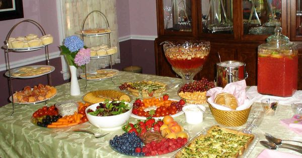 father's day buffet menu ideas
