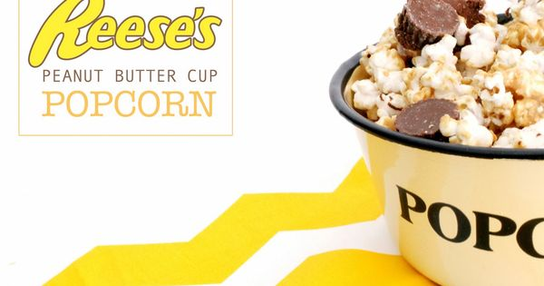 Reese's peanut butter cups, Peanut butter cups and Popcorn on ...