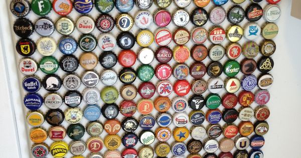 How to make beer bottle cap magnets definitely doing this for How to make things with bottle caps