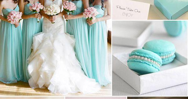 classic tiffany blue wedding color ideas ~ found your wedding idea?? now