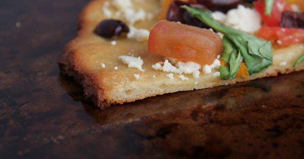 NY style paleo pizza crust, made with almond flour. | Gluten Free ...