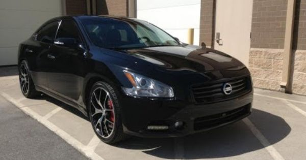 Pin By Solo Automotive Magazine On Black Colors We 3 Nissan Maxima Nissan Car