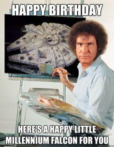 50 Best Happy Birthday Memes 6 Birthday Memes Birthday Wishes Star Wars Memes Star Wars Humor Star Wars