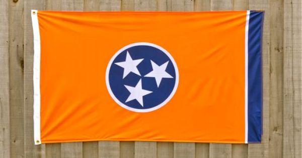 Orange Tennessee Flag Tennessee Gameday Pinterest