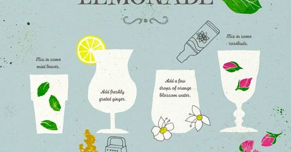 A lemonade bar?? Complete with garnishes and booze? 8 Ways to Pimp