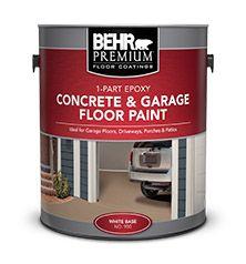 Paints Wood Stains Interior Exterior Paints Behr Paint Painted Floors Garage Floor Paint Painted Concrete Floors