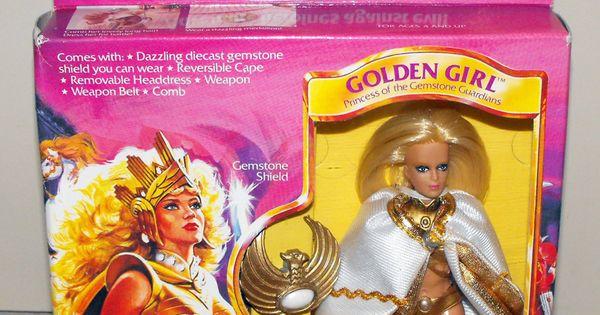 1984 Toys For Girls : Galoob golden girl action figure doll  s