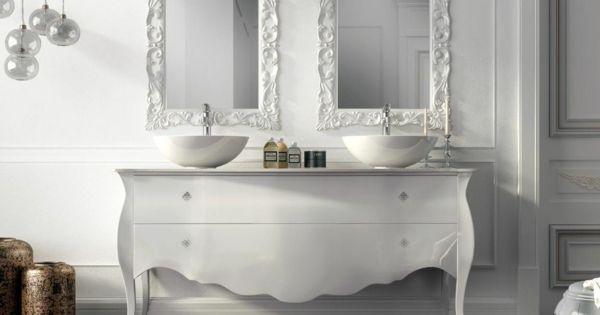 Le lavabo double vasque pour votre salle de bains - Commode pour salle de bain ...
