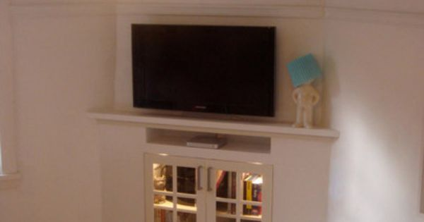 Convert Your Fireplace Into Entertainment Center