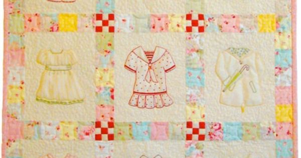 Betsy s closet in stitches embroidery quilt pattern by