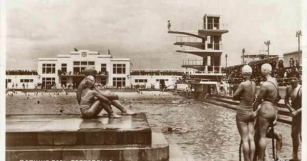 Portobello Bathing Pool 1936 Lido Pinterest