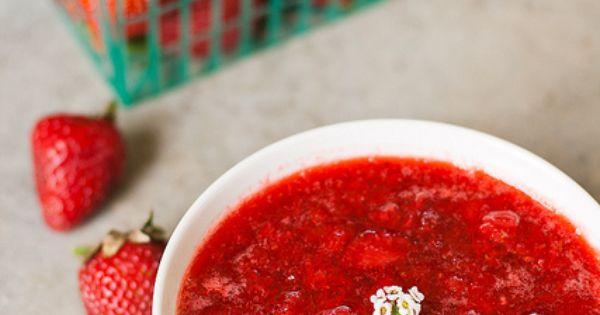 strawberry POM chutney | Preserving the harvest | Pinterest ...