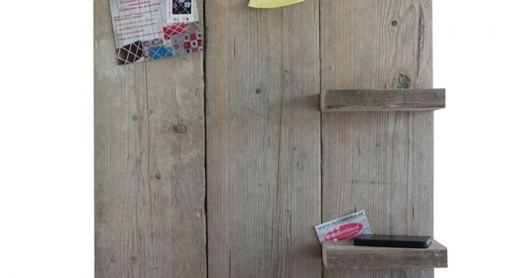 Steigerhouten prikbord met plankjes diy decoration pinterest prikbord prikborden en - Grijze hoofdslaapkamer ...