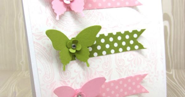 Stampin' Up! Card by Norma at PinkBlingCrafter: Elegant Butterfly Punch