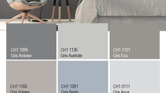 En d coration le gris est une couleur intemporelle et for Les differents gris en peinture