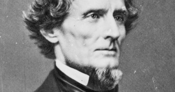 president jefferson davis biography