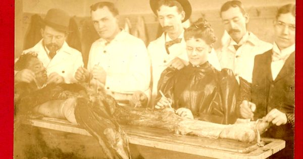 Photographs Of Medical Students Disecting A Cadaver Three