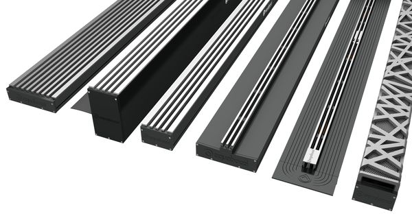 The New Range Of Aquabocci Channel Drains Interior