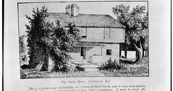 Captain Thomas Paine House 1680 East Shore Road