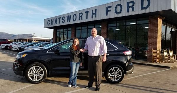 congratulations heather vess on your new edge titanium sold by cory sims we appreciate your business ford news chatsworth new and used cars pinterest
