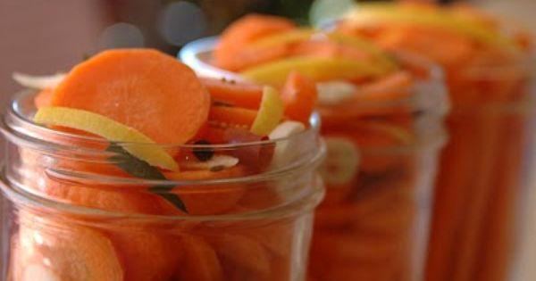 Too Many Carrots!!! - Pickled Carrots | Food | Pinterest | Carrots ...