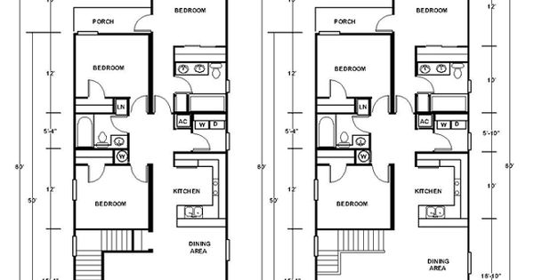 Open shotgun style house plans new orleans duplex for New orleans home floor plans