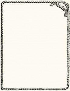 Pin By Elizabeth Lincoln On Cards Rope Frame Clip Art Clip Art Vintage