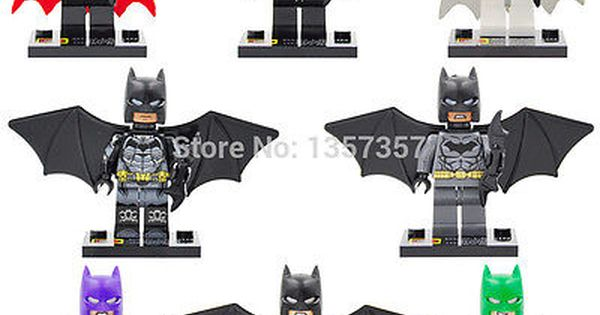 Batman Custom Minifigures Including Arkham Knight Space Suit