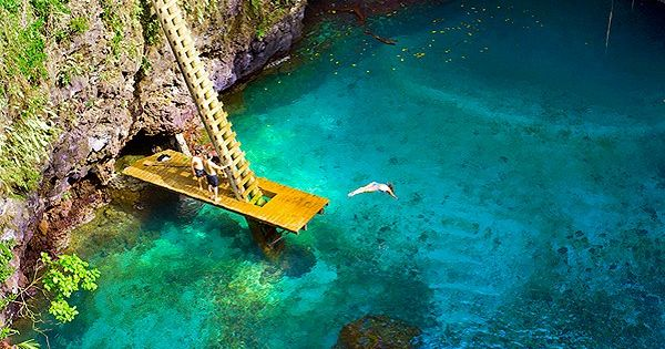 The Crystal Clear Waters Of Quot To Sua Ocean Trench Quot In