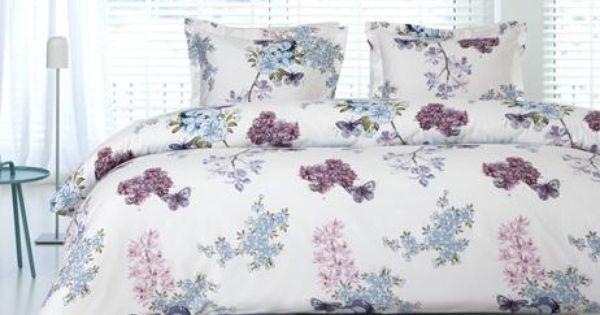 Slaapkamer Romantisch Aankleden : Auping dekbed overtrek Vanda Kleur ...