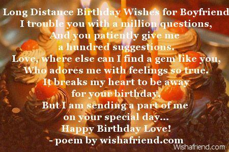2034 Boyfriend Birthday Poems Jpg 450 300 Birthday Wishes For