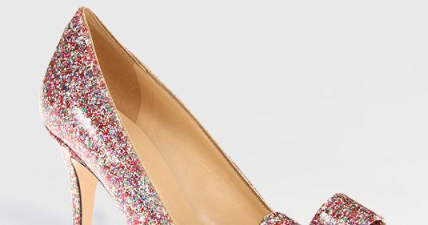 Boho sandals - Krysta Pump by Kate Spade at Colin Cowie Weddings