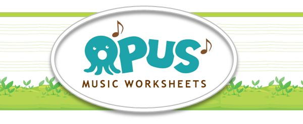 Free Music Theory Worksheets Comprehensive SelfLearning Sheets in – Opus Music Worksheets