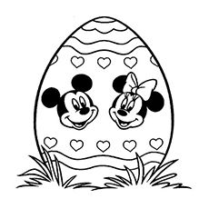 Top 10 Free Printable Disney Easter Coloring Pages Online Easter