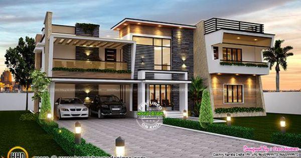 Splendid Contemporary Home Plan In 2020 Contemporary House Plans Dream Home Design Terrace Design Contemporary house kerala 2020